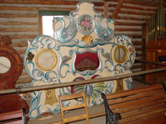�Butterfly Organ,� possibly a Frati, circa 1900. Nevada City Music Hall; from B.A.B. hoard.