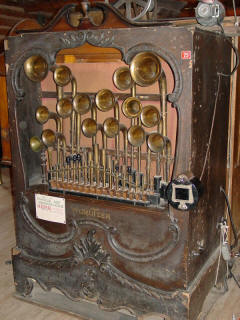 Wurlitzer style 150 band organ #2,741, made in 1920; N.C. Music Hall.